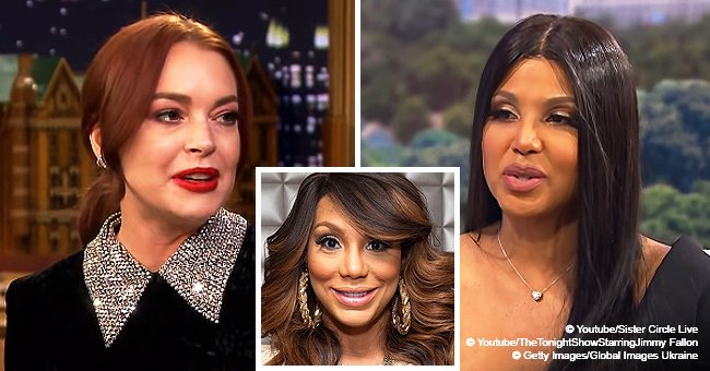 Toni Braxton claps back at Lindsay Lohan after she calls sister Tamar 'deceptive & conniving'