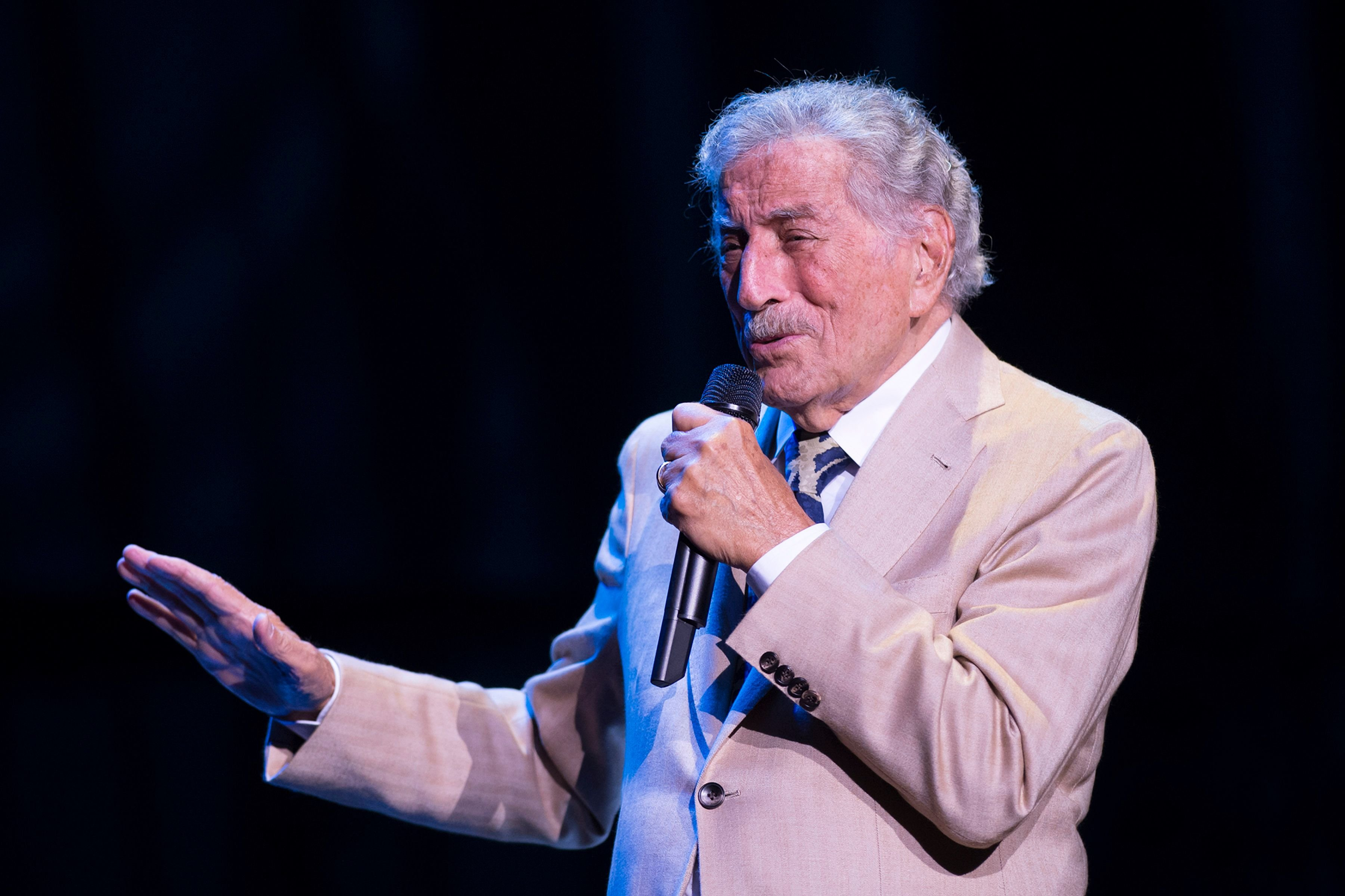 Tony Bennett performs on stage at Royal Albert Hall on June 28, 2019 in London, England.   Photo: Getty Images