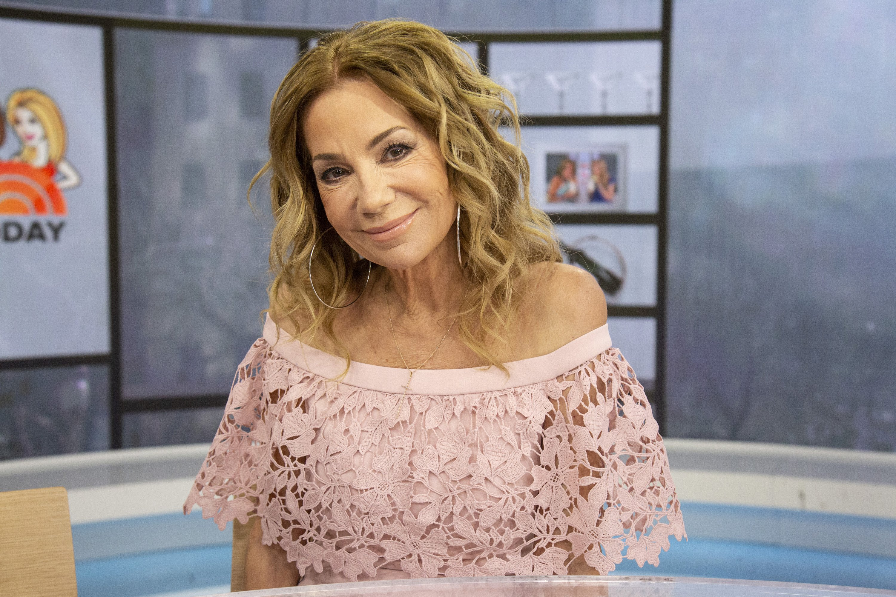 """Kathie Lee Gifford during season 68 of """"The Today Show"""" on April 2, 2019 