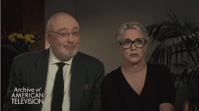 "Barney Rosenzweig and Sharon Gless in an interview with ""Archive of American Television"" 