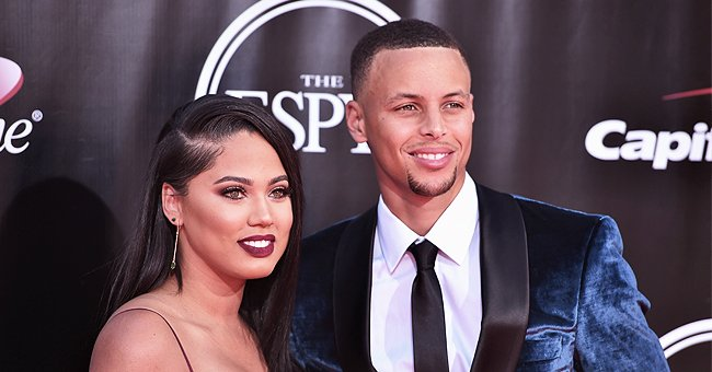 See Ayesha Curry's Son Canon's Reaction in Cute Video as He Watches His Dad Playing Basketball
