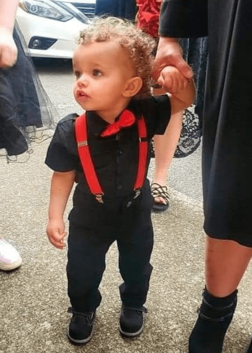 The 2-year-old who was swept away in a devastating flood and was found dead four days later is photographed before his passing | Photo: Twitter/NikkiMcGeeWKRN