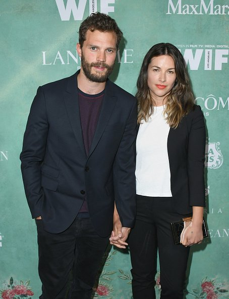 Jamie Dornan and Amelia Warner at Crustacean on March 2, 2018 in Beverly Hills, California. | Photo: Getty Images