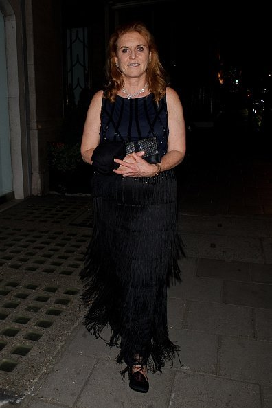 Sarah Ferguson at the Claridge's Hotel in Mayfair on July 05, 2019 in London, England   Photo: Getty Images