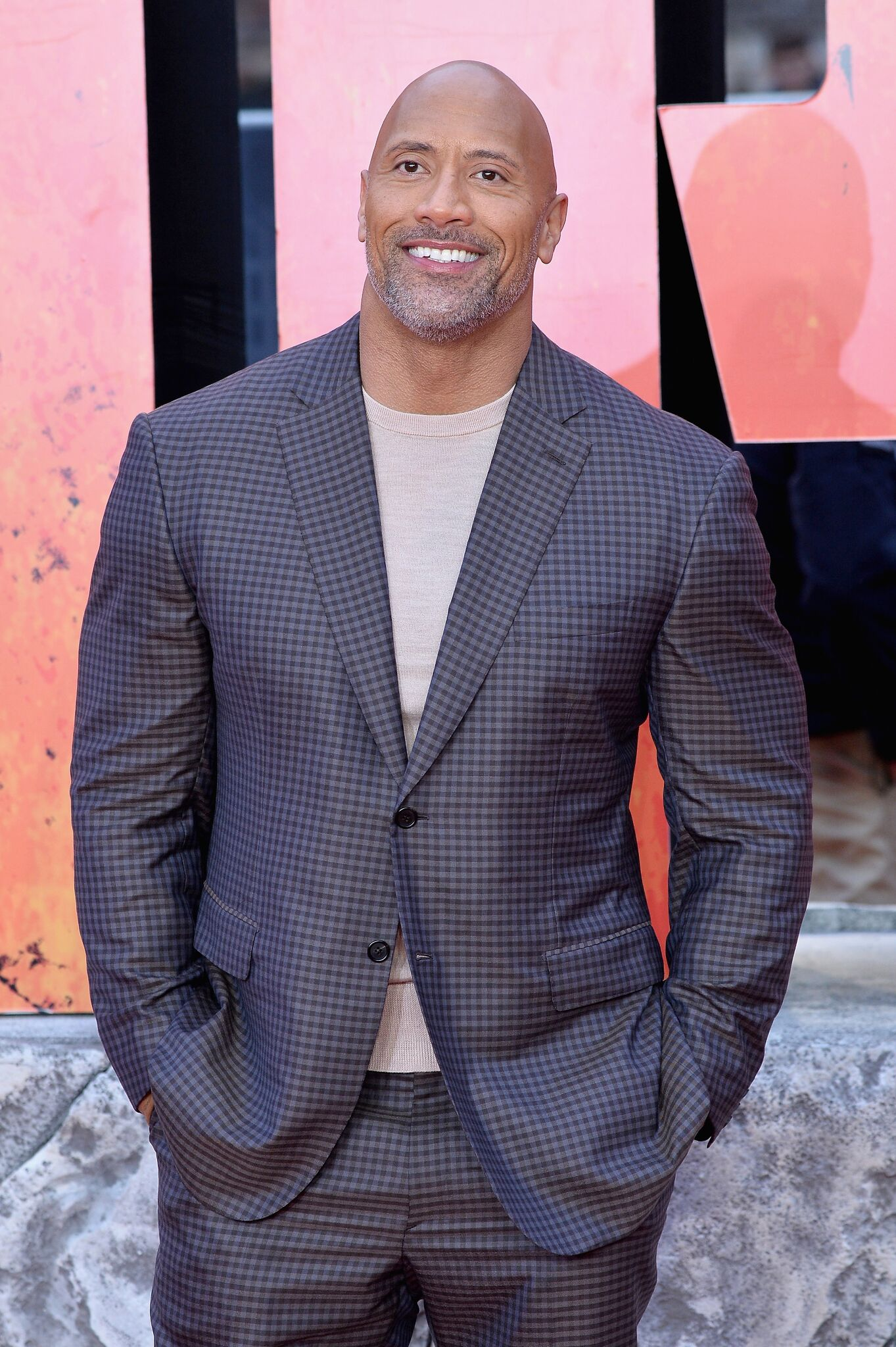 Actor Dwayne Johnson attends the European Premiere of 'Rampage' at Cineworld Leicester Square  | Getty Images