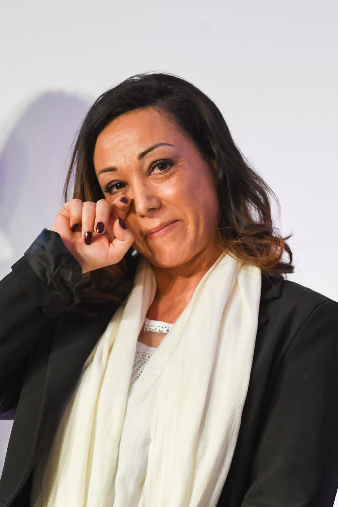 Sarah Abitbol lors de la Convention Nationale, Prévention des Violences Sexuelles dans le Sport au CNOSF le 21 février 2020 à Paris, France. | Photo : Getty Images