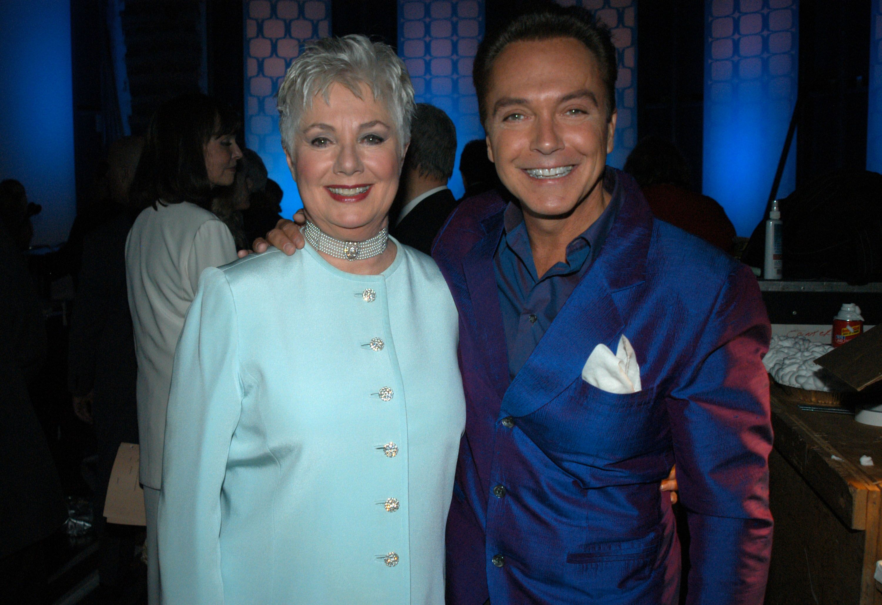 Shirley Jones and David Cassidy during The TV Land Awards at Hollywood Palladium in CA, United States on March 02, 2003 | Photo: Getty Images