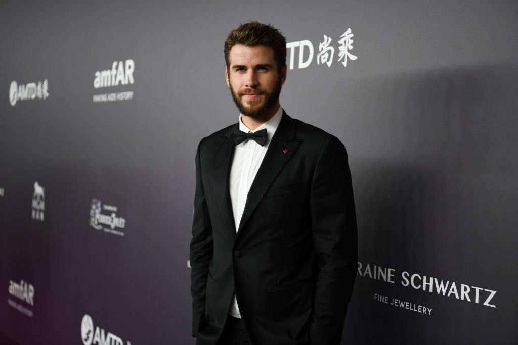 """""""The Last Song"""" actor Liam Hemsworth attends the 2018 amfAR Gala in Hong Kong. 