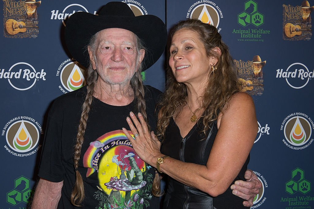 Willie Nelson and Annie D'Angelo, 2013. Image Credit: Getty Images