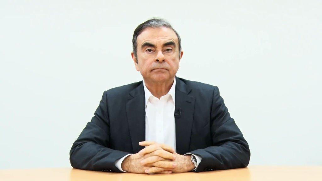 La vidéo diffusée suite à l'arrestation de Carlos Ghosn. l Source: Getty Images