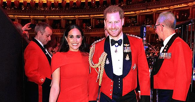 Meghan Reportedly Comforted Harry during Emotional Appearance Ahead of Their Royal Exit
