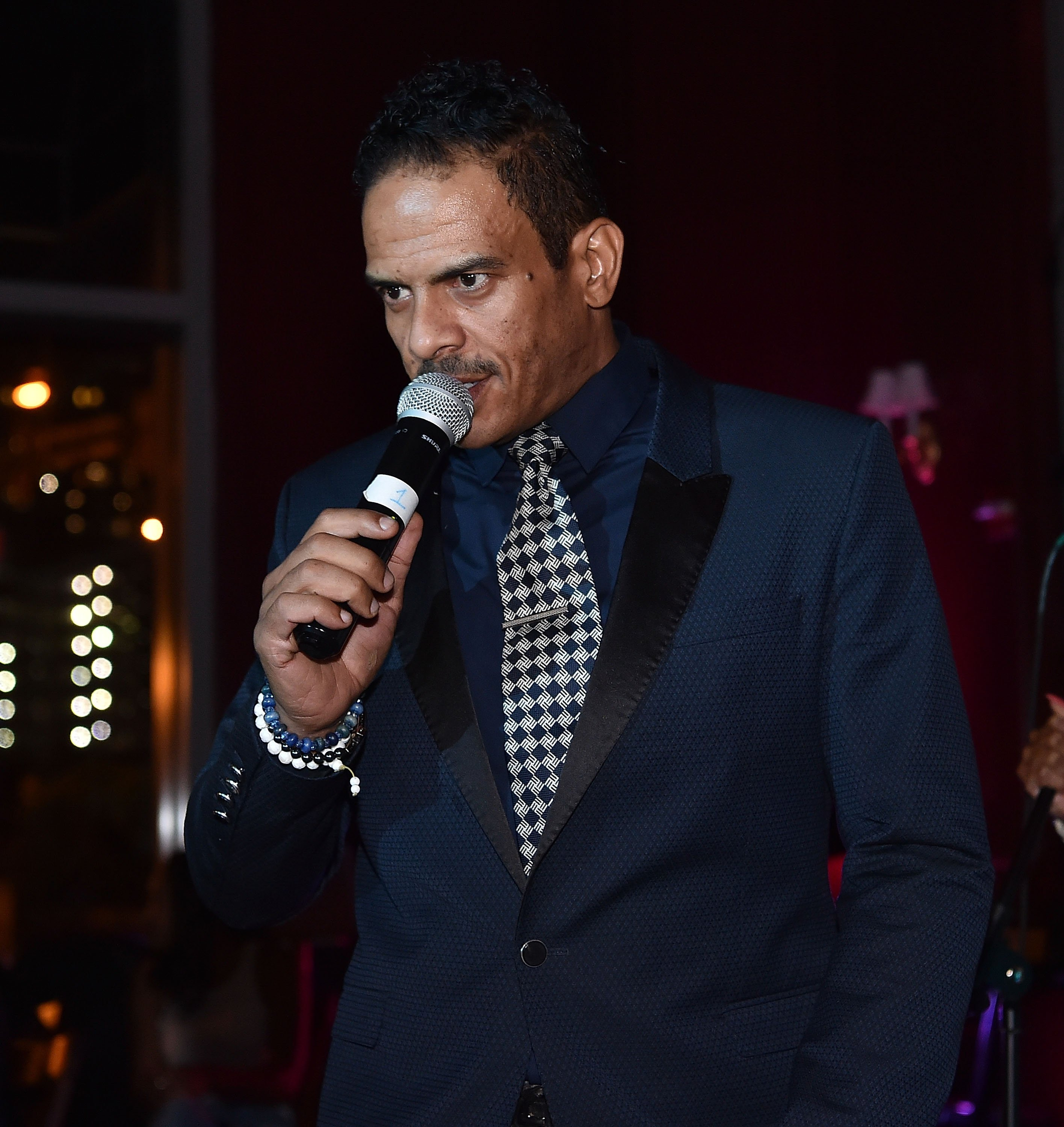 Christopher Williams performs onstage at The Real Love Music Experience With Christopher Williams on March 15, 2016 in Atlanta, Georgia   Photo: Getty Images