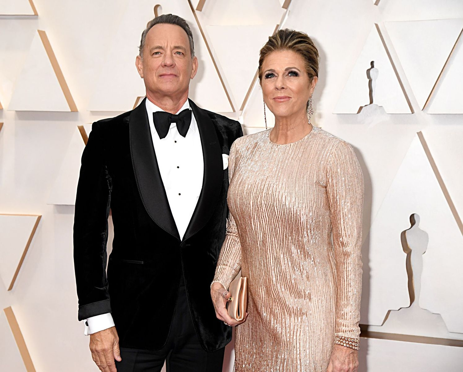Tom Hanks and Rita Wilson at the 92nd Annual Academy Awards on February 09, 2020, in Hollywood, California | Photo: Jeff Kravitz/FilmMagic/Getty Images