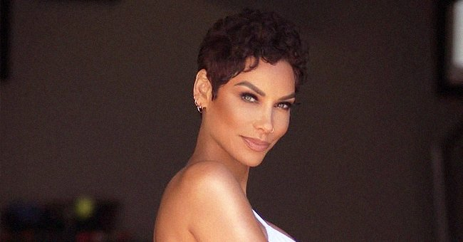 Nicole Murphy Looks Half Her Age Running in a Nude Top with Leggings & Stylish Sunglasses
