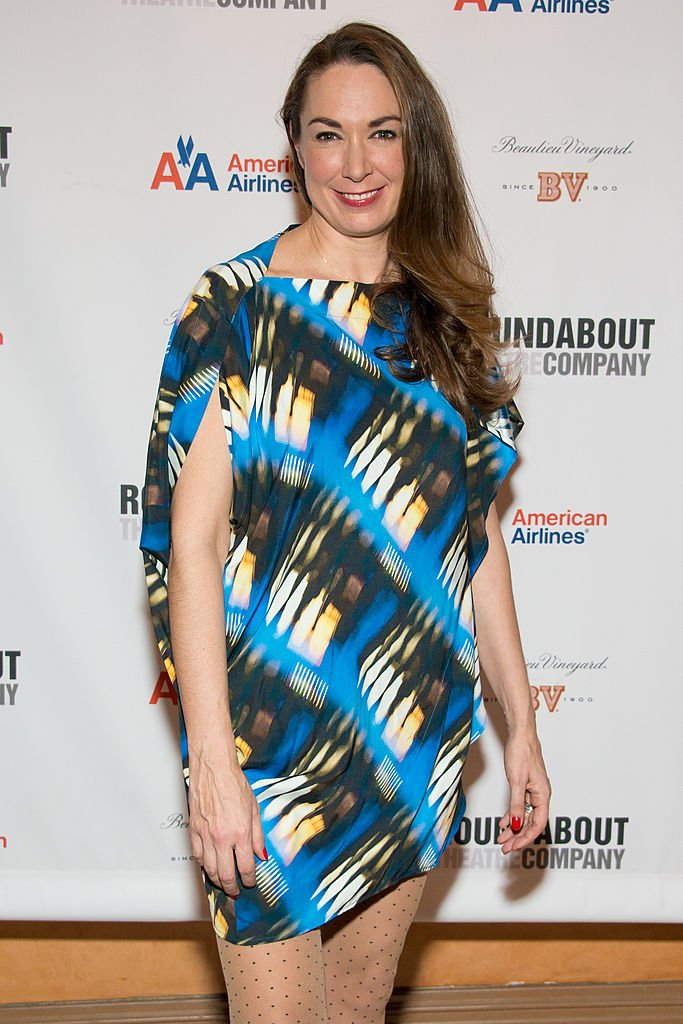 """Elizabeth Marvel attends """"Picnic"""" Broadway Opening Night at American Airlines Theatre on January 13, 2013 