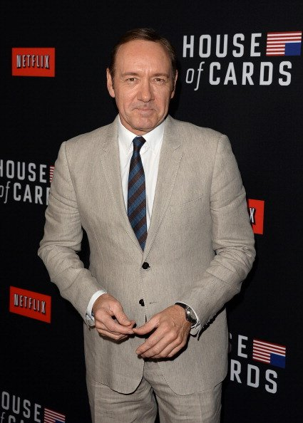 Kevin Spacey at the Directors Guild of America on February 13, 2014 in Los Angeles, California. | Photo: Getty Images