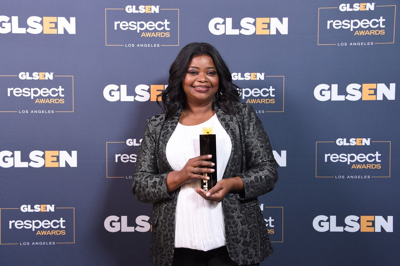 Octavia Spencer at the 2019 GLSEN Respect Awards/ Source: Getty Images