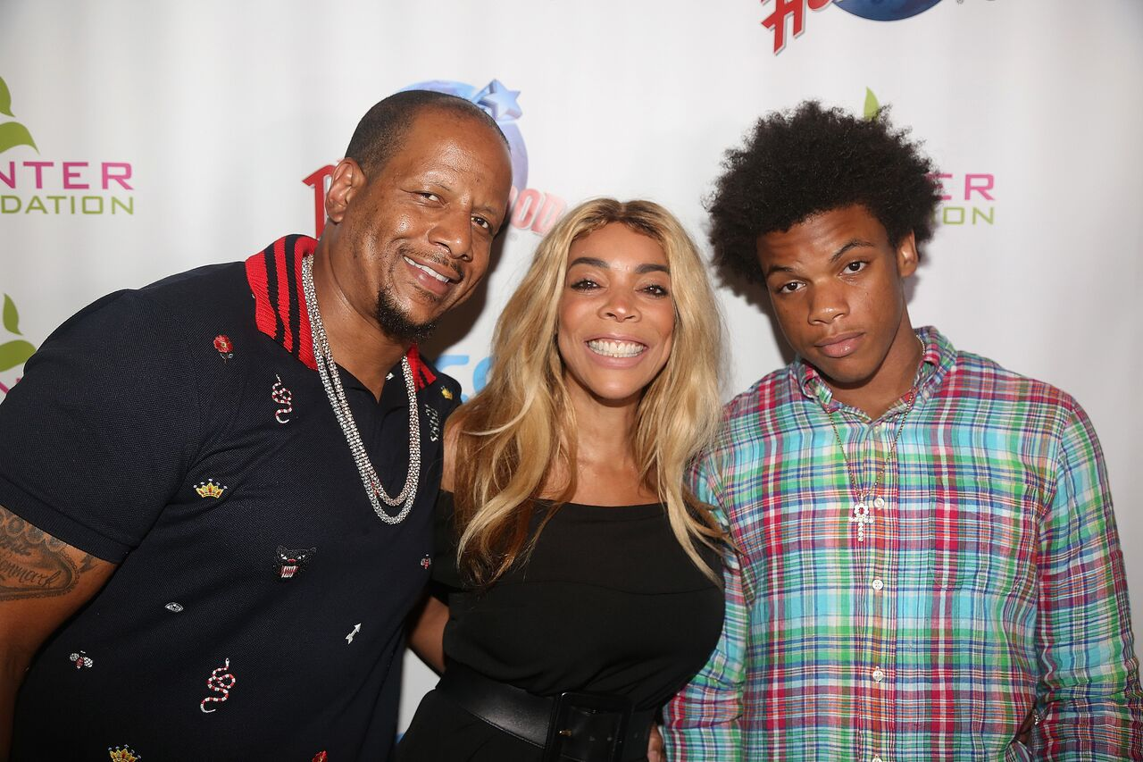 Wendy Williams with son and soon to be ex-husband Kevin Hunter. | Photo: GettyImages
