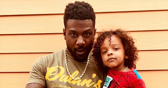 Lance Gross Proves He Has Strong DNA Posing With His Mini-Me Lennon in This Father-Son Photo