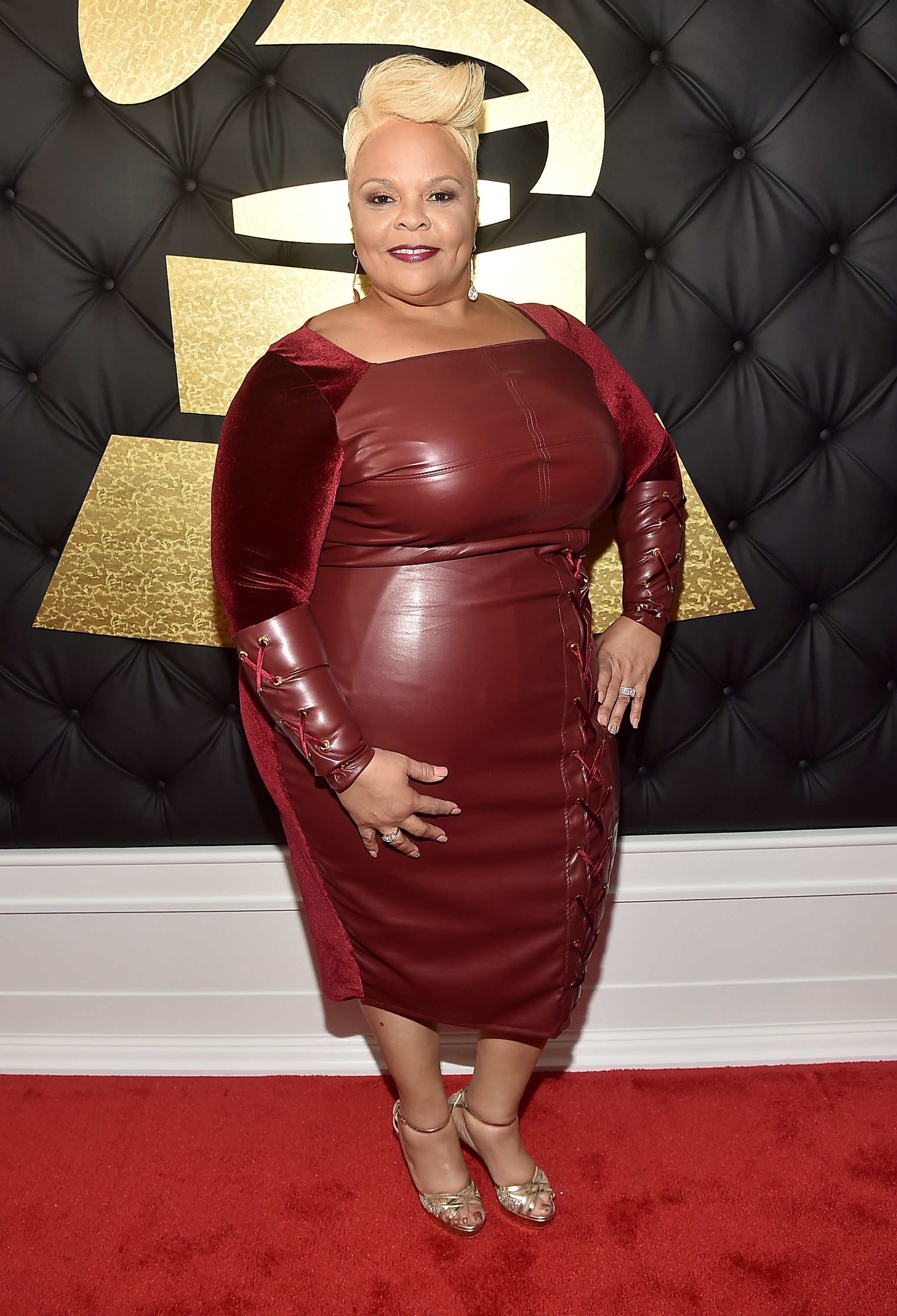 Tamela Mann at The 59th Grammy Awards at STAPLES Center on February 12, 2017 | Photo: Getty images