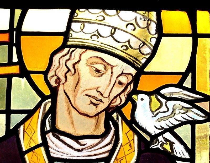 San Gregorio se convirtió en el escritor más fecundo de los papas medievales.| Fuente: Wikipedia