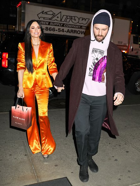 Kacey Musgraves and Ruston Kelly are seen on February 05, 2020 in New York City. | Photo: Getty Images
