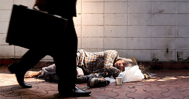 Daily Joke: A Man Was Confronted by a Homeless Man