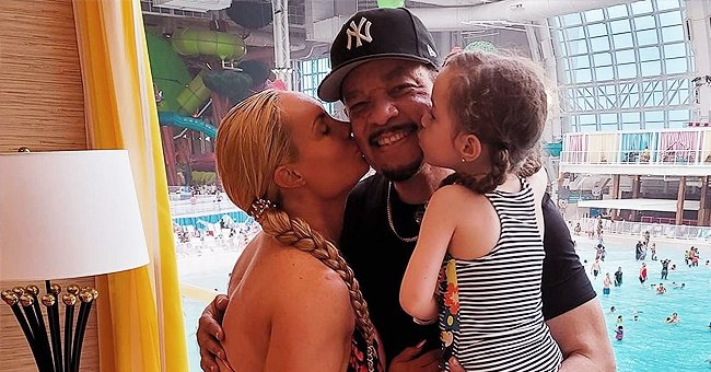 Coco Austin & Her Husband Ice-T Enjoy Family Time with Their Daughter Chanel at a New Water Park