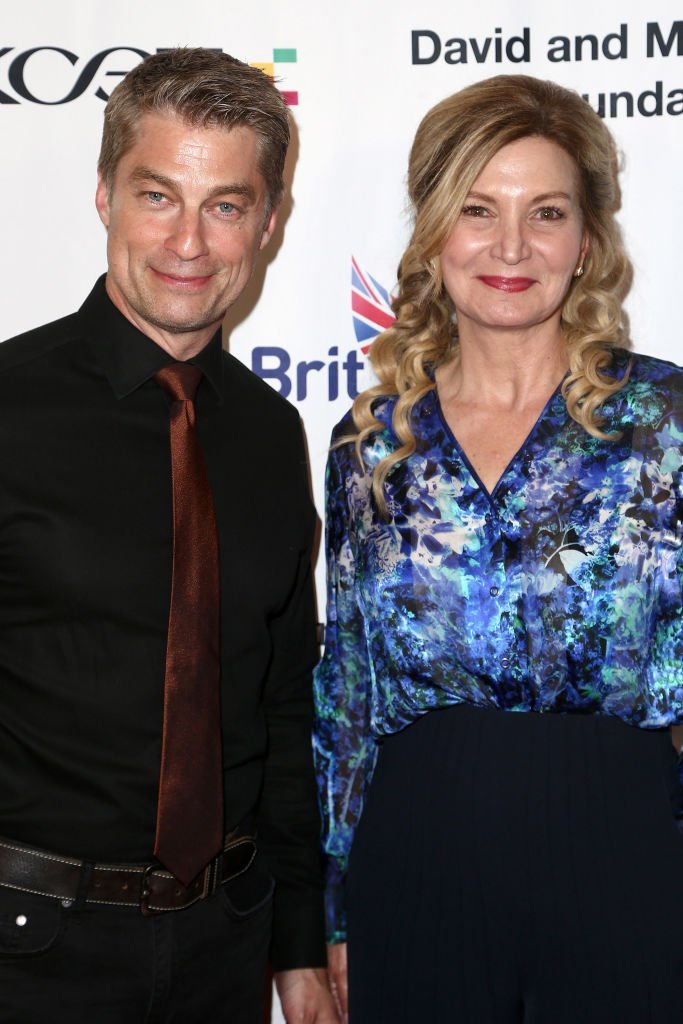 """Jamison Jones and Isabella Hofmann attend the BritWeek And The Wallis Present """"A Shakespeare Jubilee!"""" 