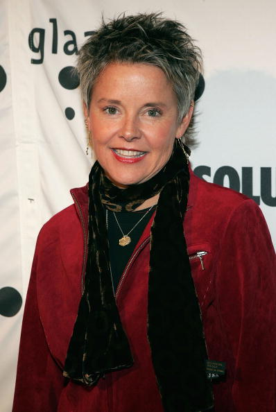 Amanda Bearse attends the 17th annual GLAAD Media Awards at the Marriott Marquis Hotel March 27, 2006, in New York City. | Source: Getty Images.