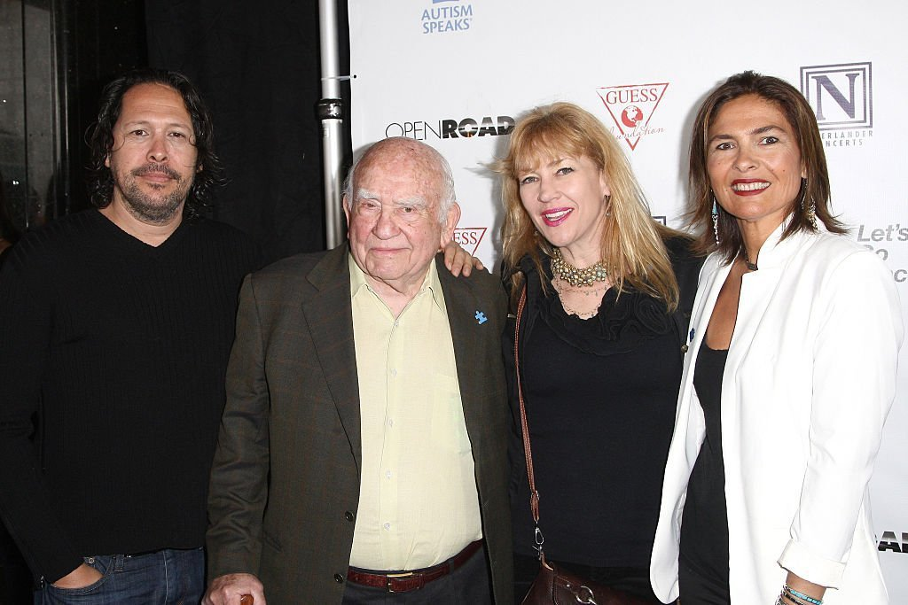 Ed Asner beim 3rd Light Up The Blues Concert, California, 2015 | Quelle: Getty Images