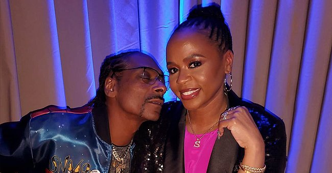 Snoop Dogg Shares Photo with Wife Shante Broadus Amid Celina Powell Cheating Scandal and Fans Have a Lot to Say