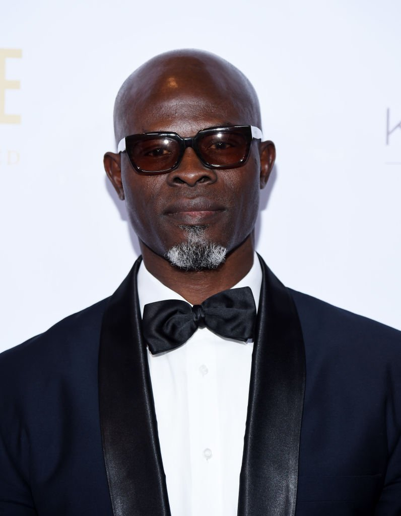 Djimon Hounsou arrives at the 2019 WildAid Gala at the Beverly Wilshire Four Seasons Hotel in Beverly Hills, California | Photo: Getty Images