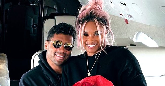 Ciara Bonds with Her & Russell Wilson's Baby Son Win Showing His Beautiful Eyes in a Cute Photo