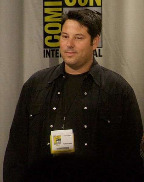 Greg Grunberg at the Heroes panel, Comic-Con 2008. | Source: Wikimedia Commons