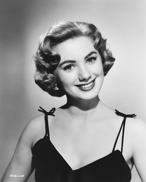 """Portrait of Shirley Jones for the 1959 movie """"Never Steal Anything Small"""" 