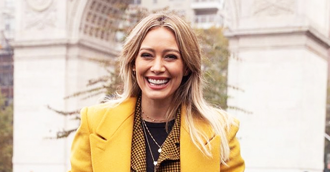 Hilary Duff Celebrates First Day of Filming 'Lizzy McGuire' Revival in New York with a Smiling Photo
