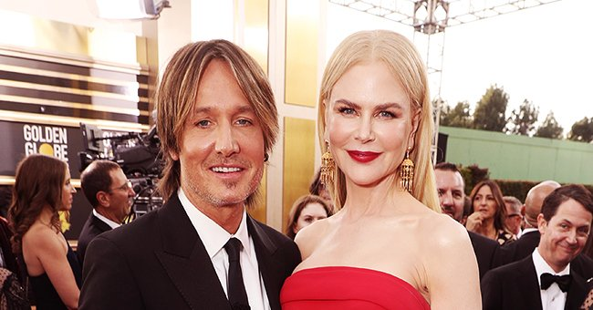 Nicole Kidman Stuns in Strapless Red Gown Alongside Husband Keith Urban at 2020 Golden Globe Awards