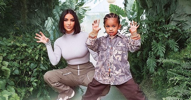 Kim Kardashian of KUWTK Fame Shares Photos from Son Saint's Dinosaur-Themed 4th Birthday Party