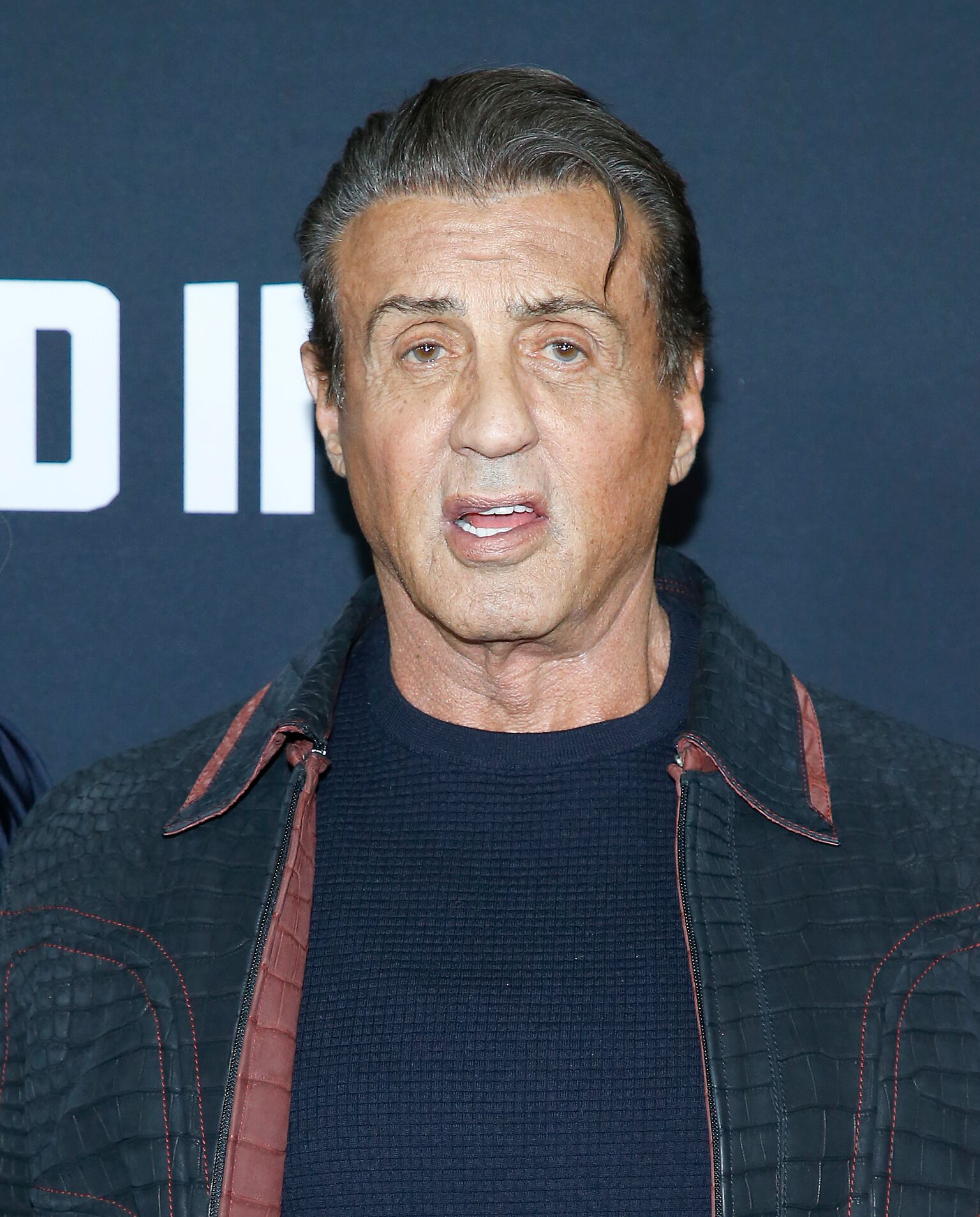 "Sylvester Stallone à la projection de ""Creed II"" 