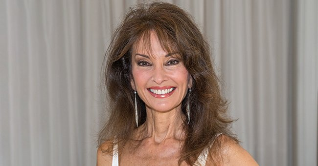 Susan Lucci Posts Rare Snap with Husband Helmut Huber Wearing a Gorgeous Red Velvet Dress