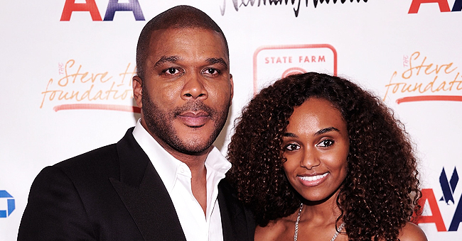 Tyler Perry's Longtime Partner Gelila Bekele Flaunts Her Curls & Cleavage in Polka-Dot Dress in a New Video