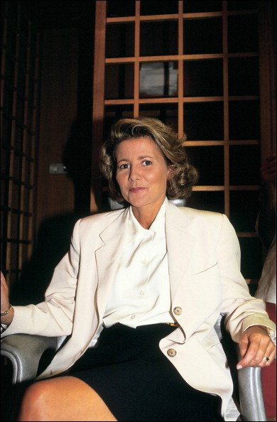 Chazal présente The Weekend On Bbc 1. Le 17 août 1991. | Photo : Getty Images