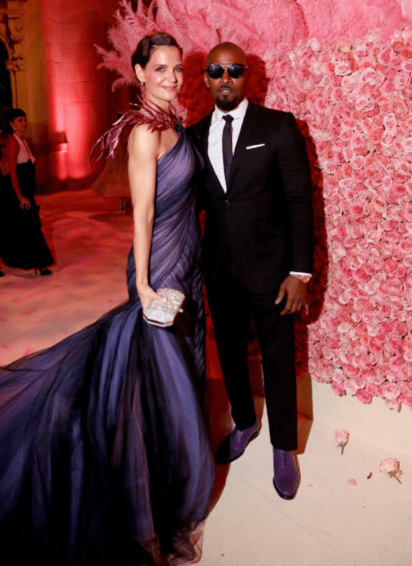 Katie Holmes and Jamie Foxx the MET Gala | Getty Images