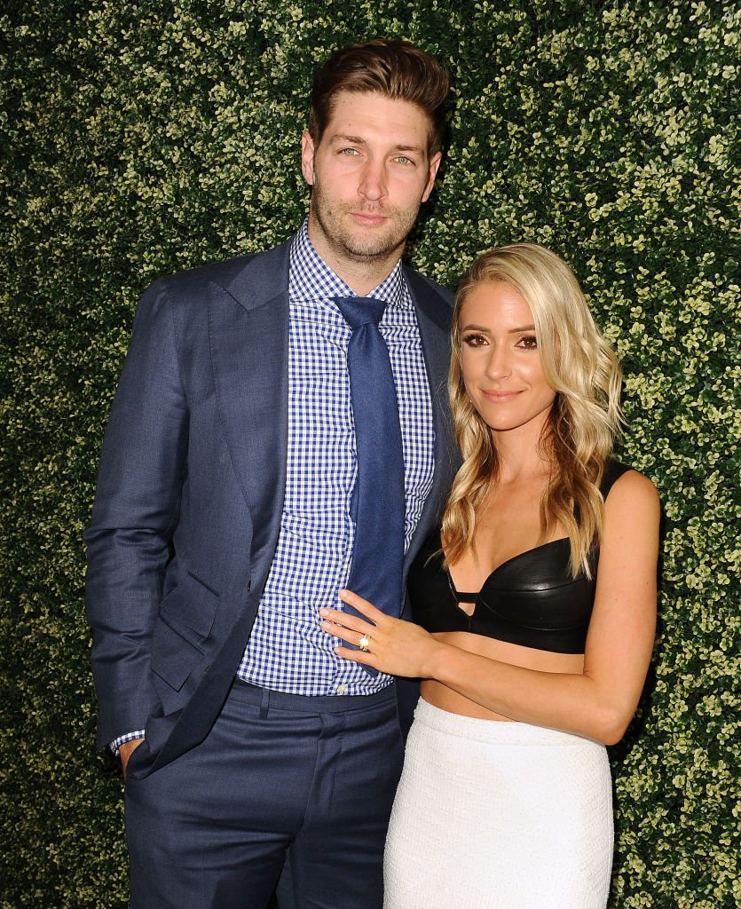 "Jay Cutler and Kristin Cavallari attend the launch of ""Uncommon James"" in West Hollywood, California on April 27, 2017 