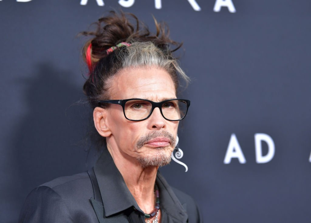 """Steven Tyler attends the premiere of 20th Century Fox's """"Ad Astra"""" at The Cinerama Dome in Los Angeles, California 