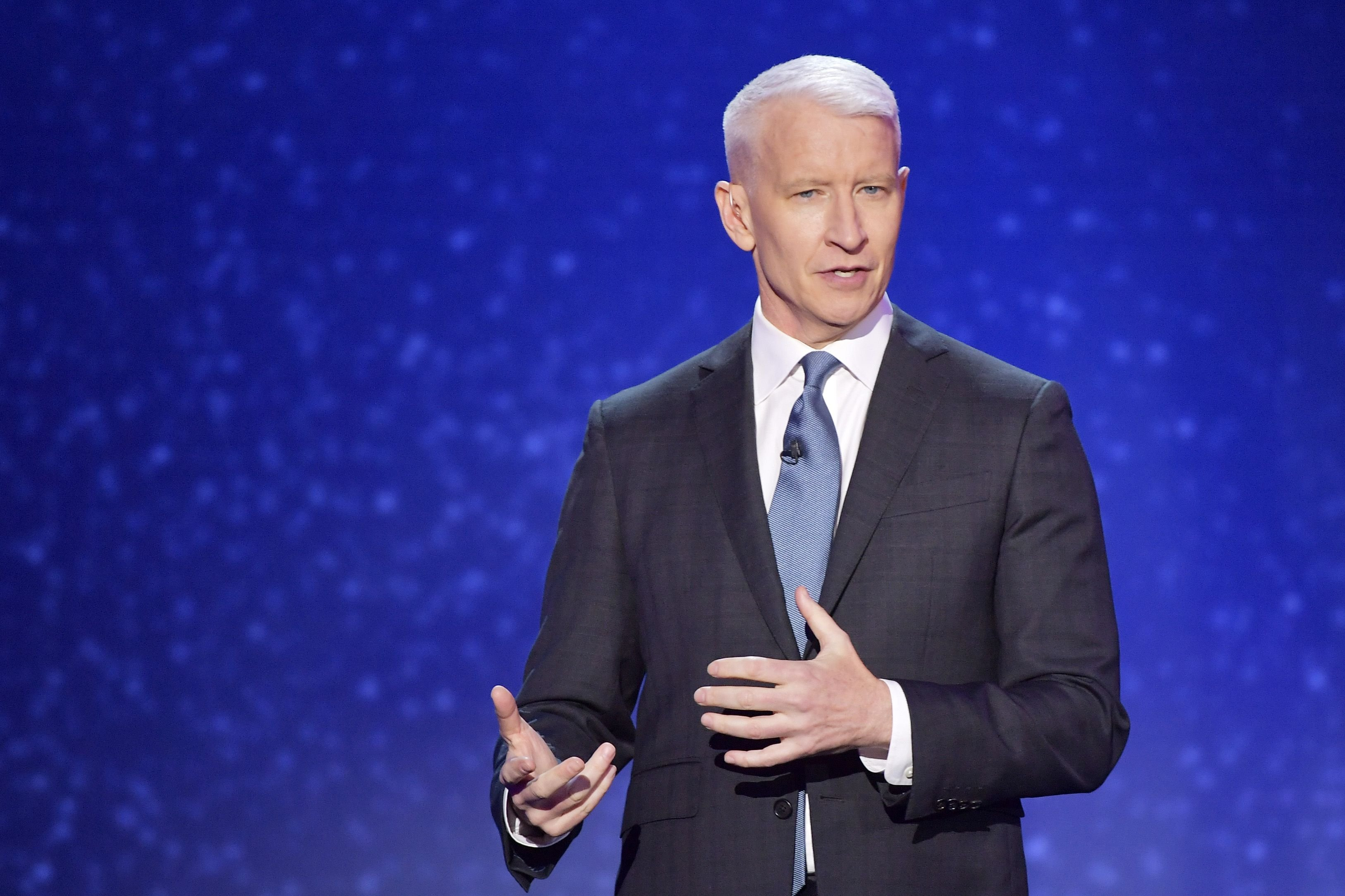 Anderson Cooper spoke at the 12th Annual CNN Heroes: An All-Star Tribute at American Museum of Natural History on December 9, 2018 | Photo: Getty Images