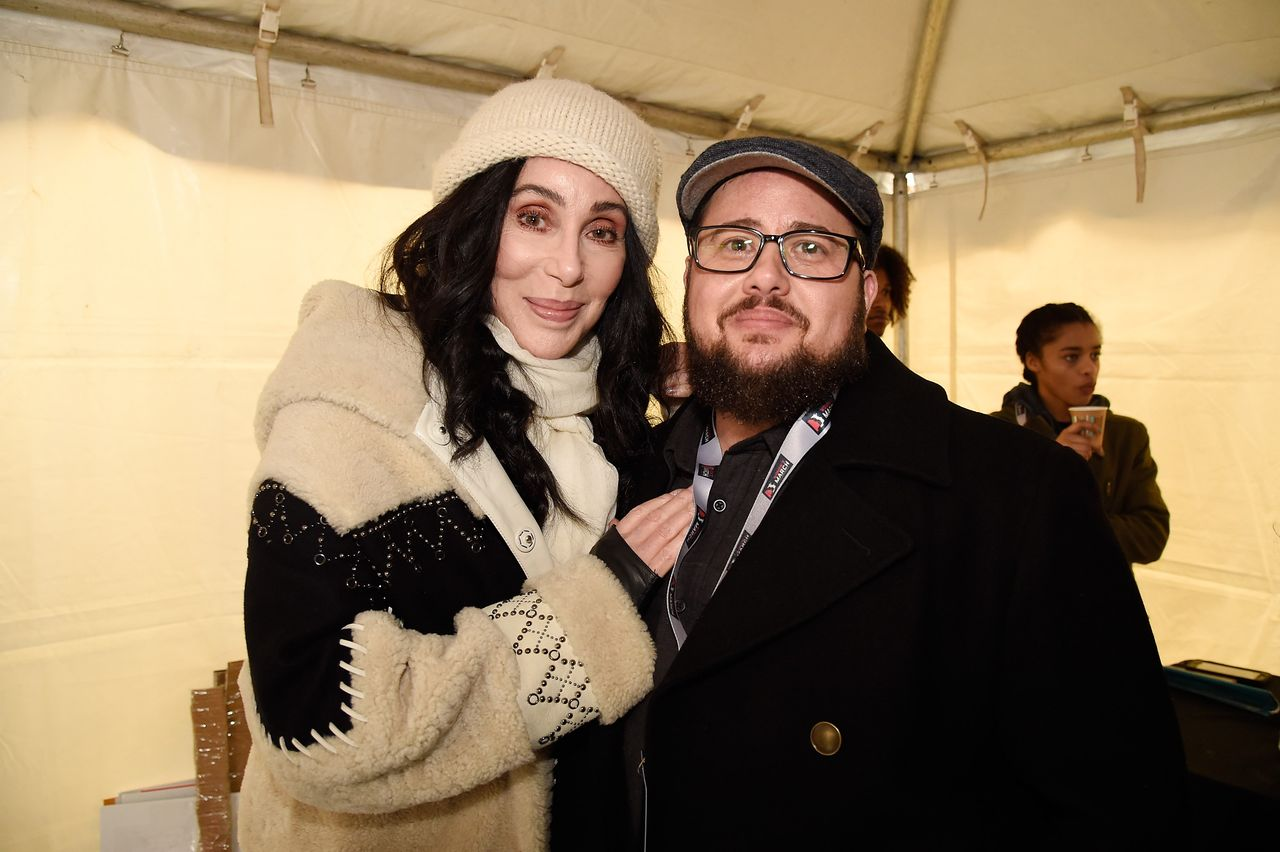 Cher and Chaz Bono at the rally at the Women's March on Washington on January 21, 2017 in Washington, DC | Photo: Getty Images