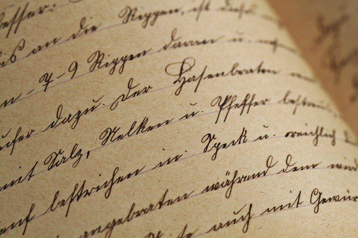 Carta antigua. | Imagen: PxHere