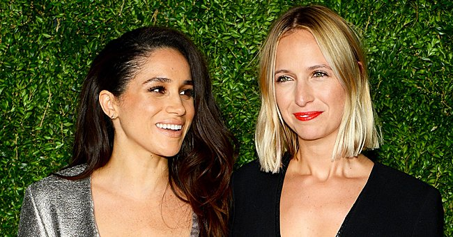 Meghan Markle and Misha Nonoo pictured at the 12th annual CFDA/Vogue Fashion Fund Awards, 2015, New York City. | Photo: Getty Images